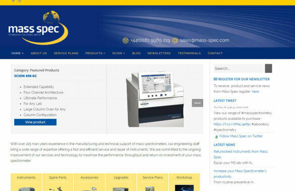 Mass Spec Technology Solutions