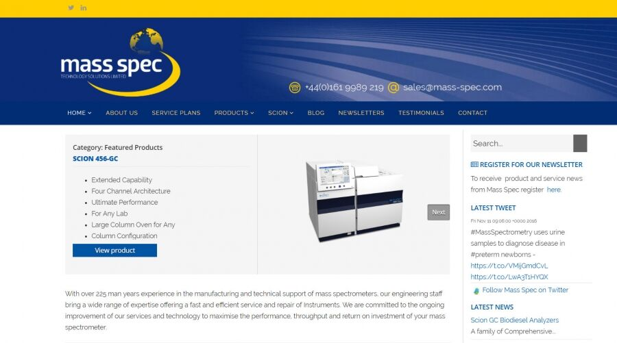Mass Spec Service Solutions