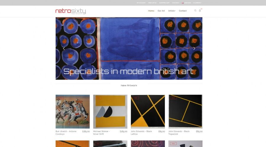 retrosixty - contemporary british art