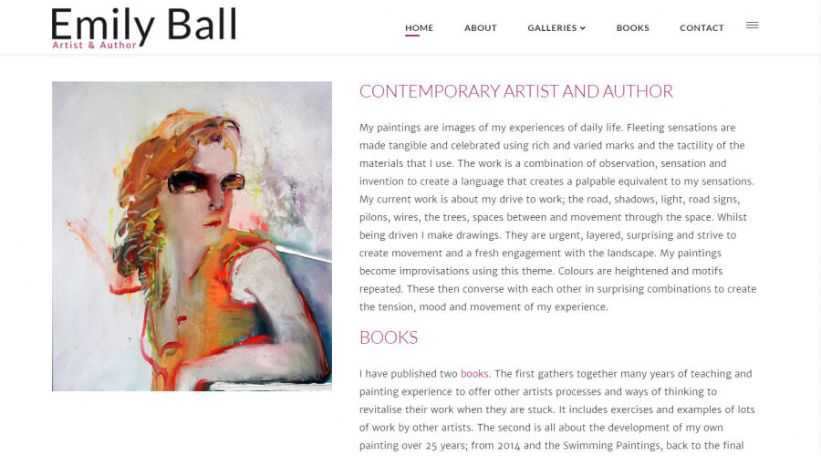 Emily Ball - Artist - Author